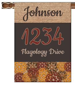 Personalized Address Flag