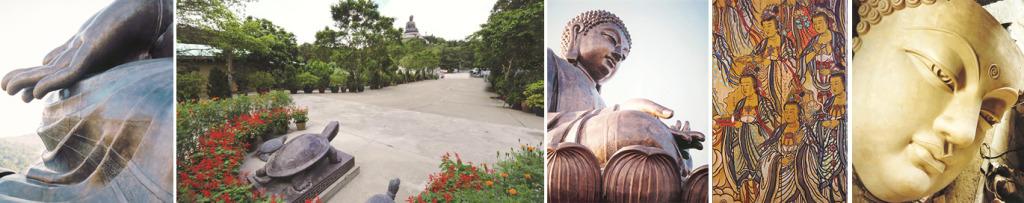 Po Lin Monastery Images via http://www.plm.org.hk/